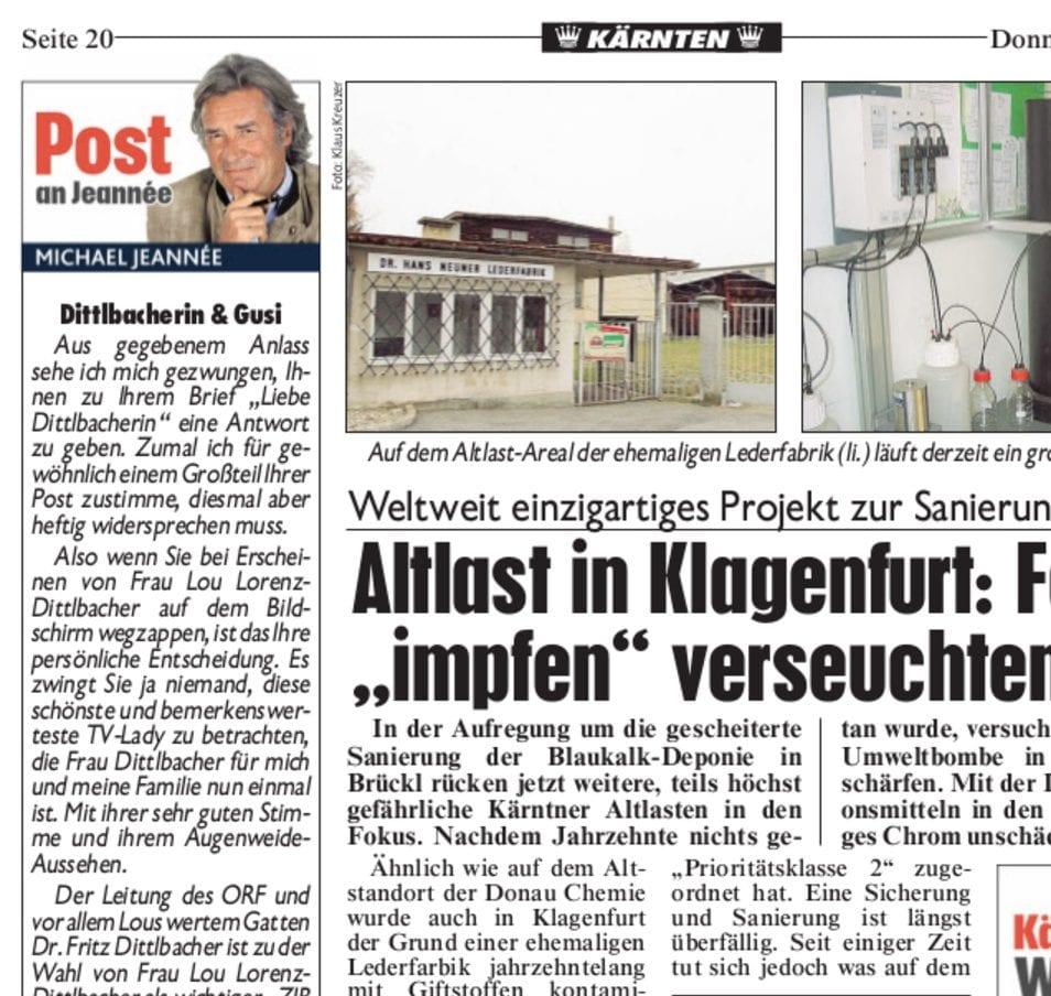Presse Krone 2015 - Altlast