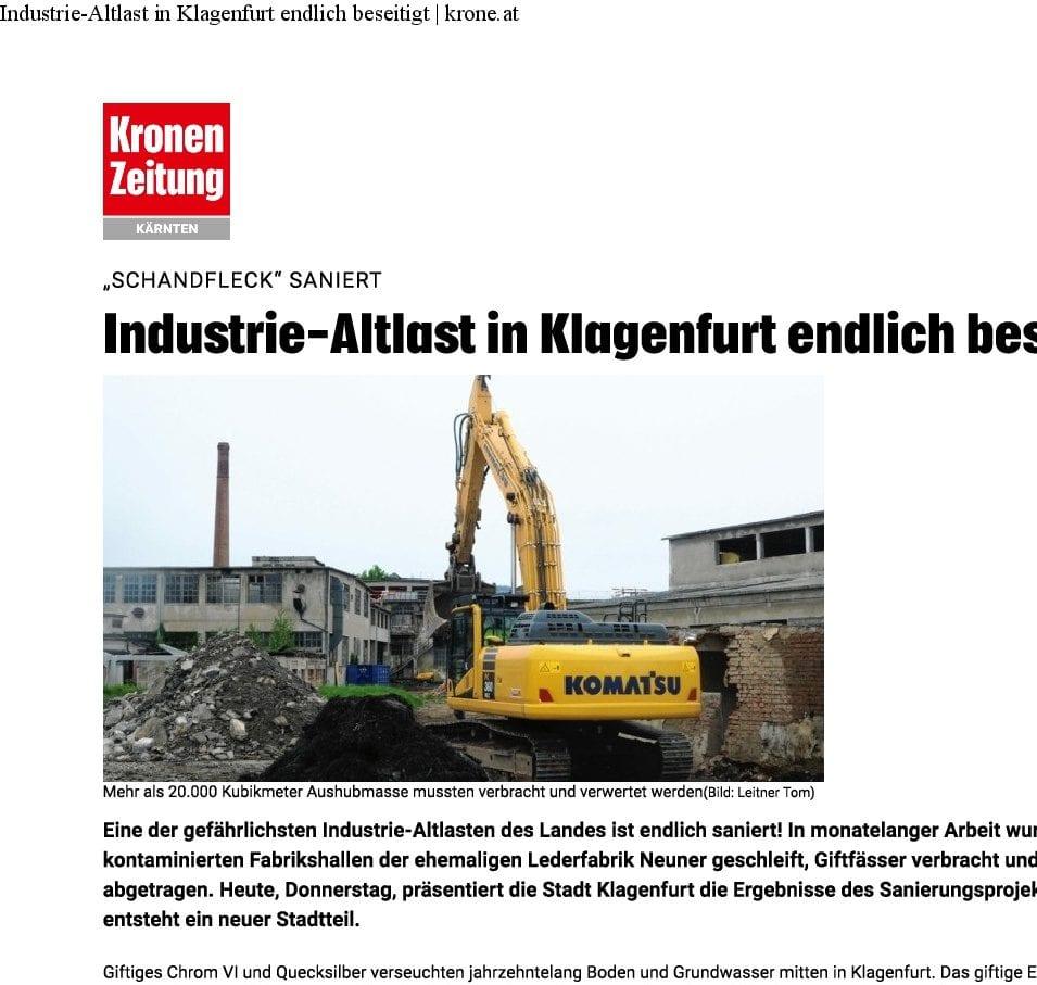 Krone 2020 - Sanierung Lederfabrik Neuner
