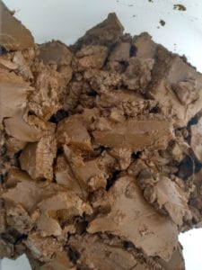 Recyclable sludge after ferrodecont-process