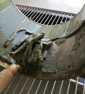 Recyclable centrifuge sludge